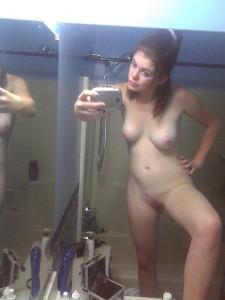 handy selfie nackt