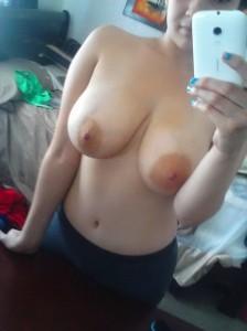 dicke titten handy selfie