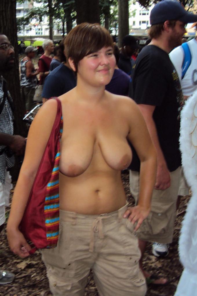Nackt öffentlich