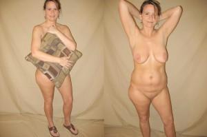 private nacktfotos milf zieht sich aus