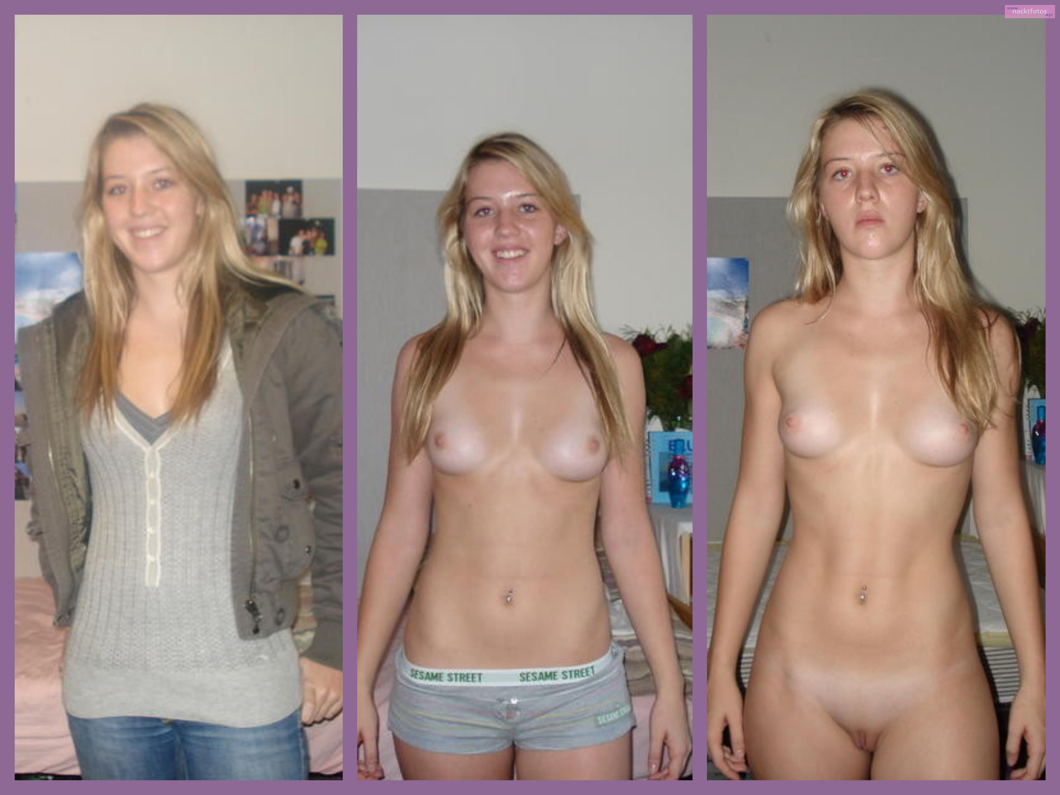 Und girls nackt angezogen Nackt und