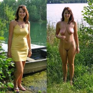 fotos vcon meiner frau nackt am see