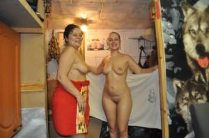 mutter und tochter nackt nach einem saunabesuch