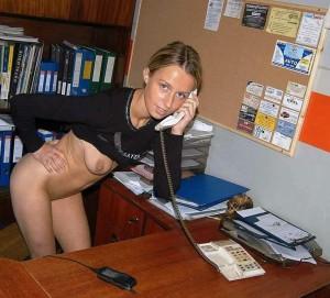 sekretaerin amateur junge blondine nackt