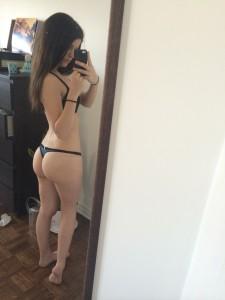 geiler teen arsch auf einem privaten selfie