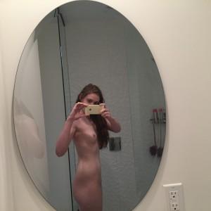 spiegel nackt selfie bild privat