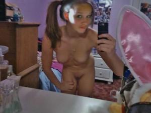 teen selfie nackt