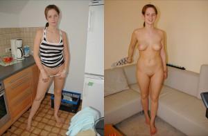 erika nacktfoto und angezogen
